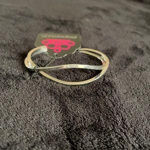 4 For $25 ⭐️ Paparazzi silver cuff bracelet